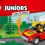 лего сити инструкции по сборке пожарный