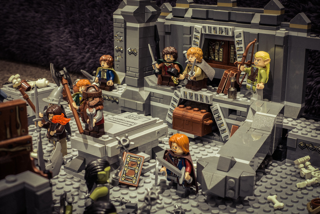 Обзор LEGO Lord of the Rings