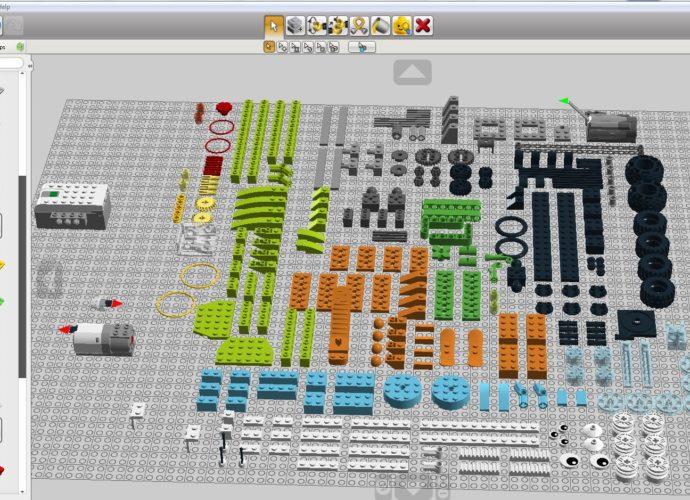 Lego digital designer и wedo 2.0