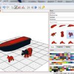 Виртуальный Лего-конструктор LeoCAD