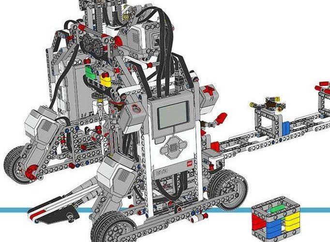 Фабрика спиннеров LEGO