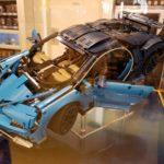 Lego Technic собрали Bugatti Chiron из конструктора в натуральную величину