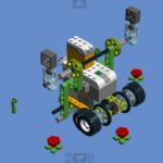 Схема Робот Сумоист из WeDo 2.0
