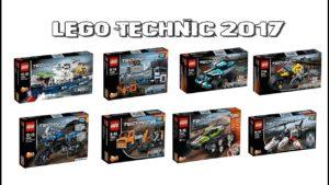 Новинки LEGO Technic 2017 года